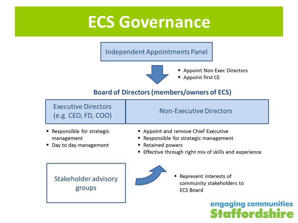 ECS Governance