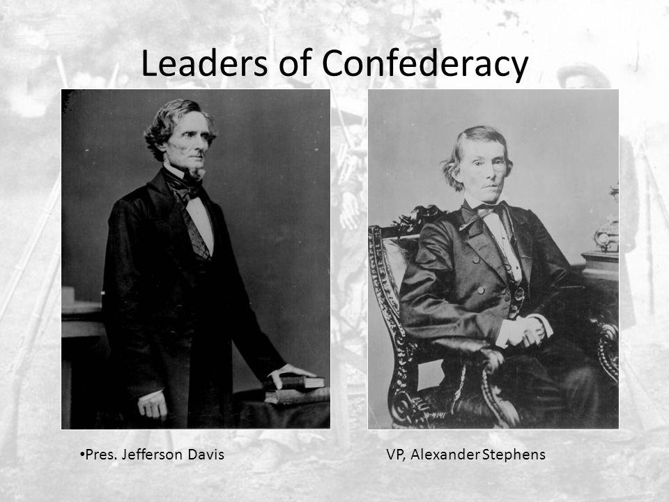 Northern View of Jefferson Davis