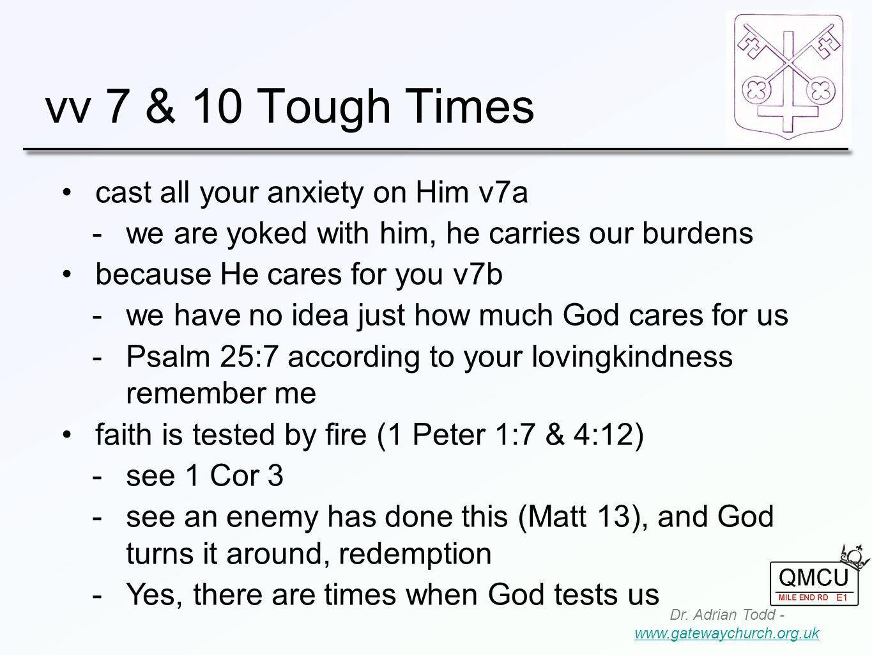 vv 7 & 10 Tough Times Dr.