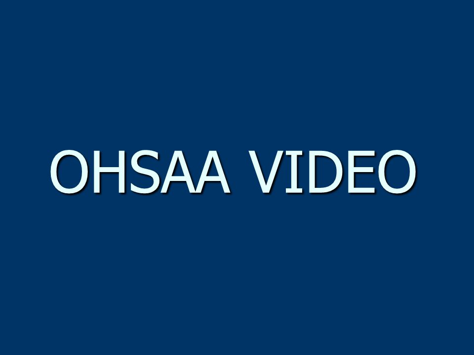 OHSAA VIDEO