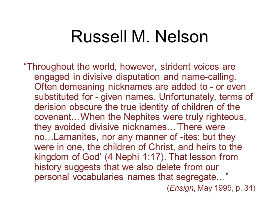 Russell M.