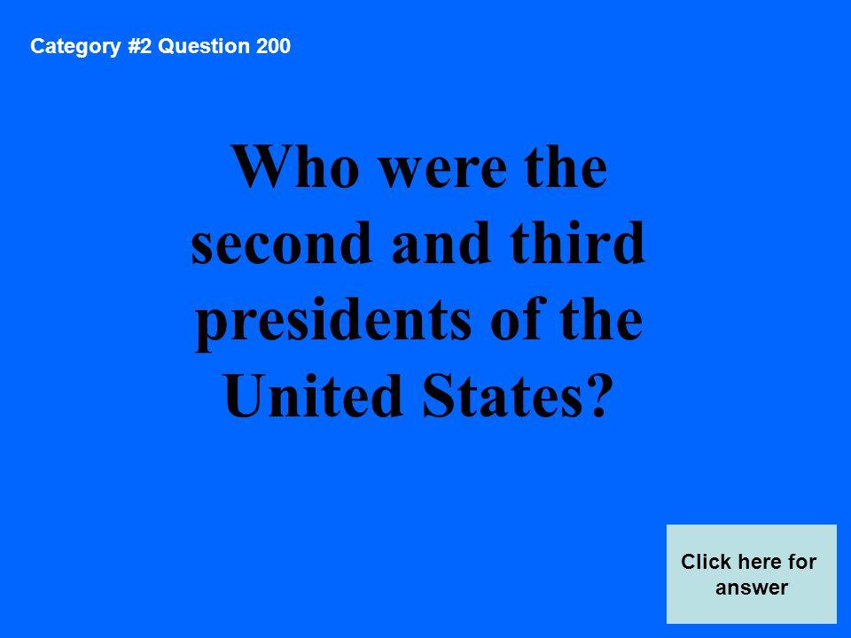 Category 5 Answer 400 Score Board Answer Here