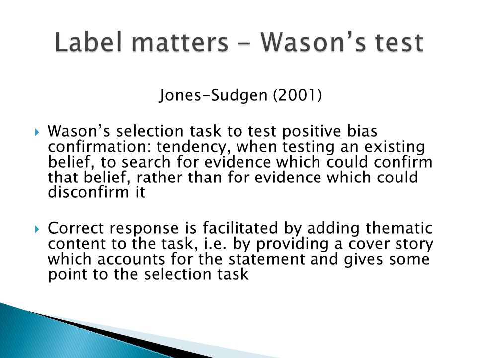  In our experiment, subjects' behavior depends more on prior learning outside the laboratory than on expected gains in the laboratory  Labels have the power to increase external validity with a minimal sacrifice of the internal validity  To test learning and cognitive models, it is necessary to remind and to evoke contexts which may activate emotions, association, similarities in the laboratory