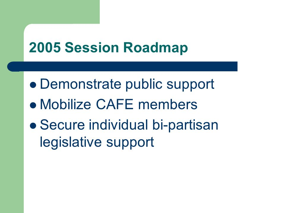 What can CAFE Iowa & CAN do Provide training and technical support through consultants and SWATT members Legislative updates Be your voice at the Capitol Keep you informed through monthly updates Networking opportunities