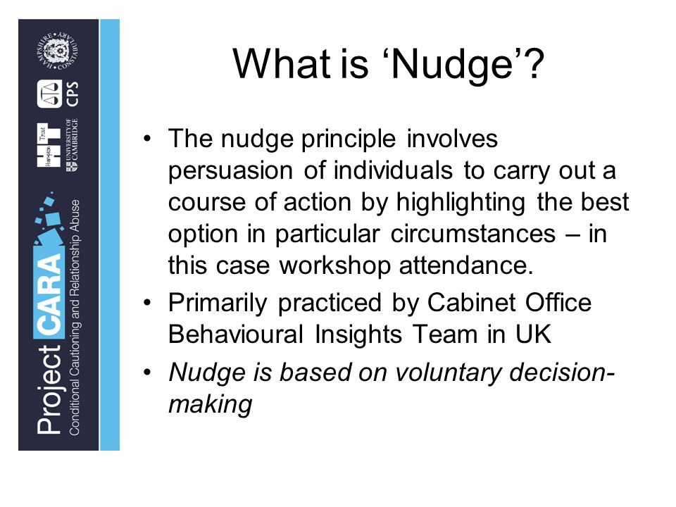 What is 'Nudge'.