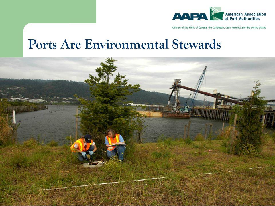 No Two Ports Are Alike Port of Benton (Washington) Port of Long Beach (California)
