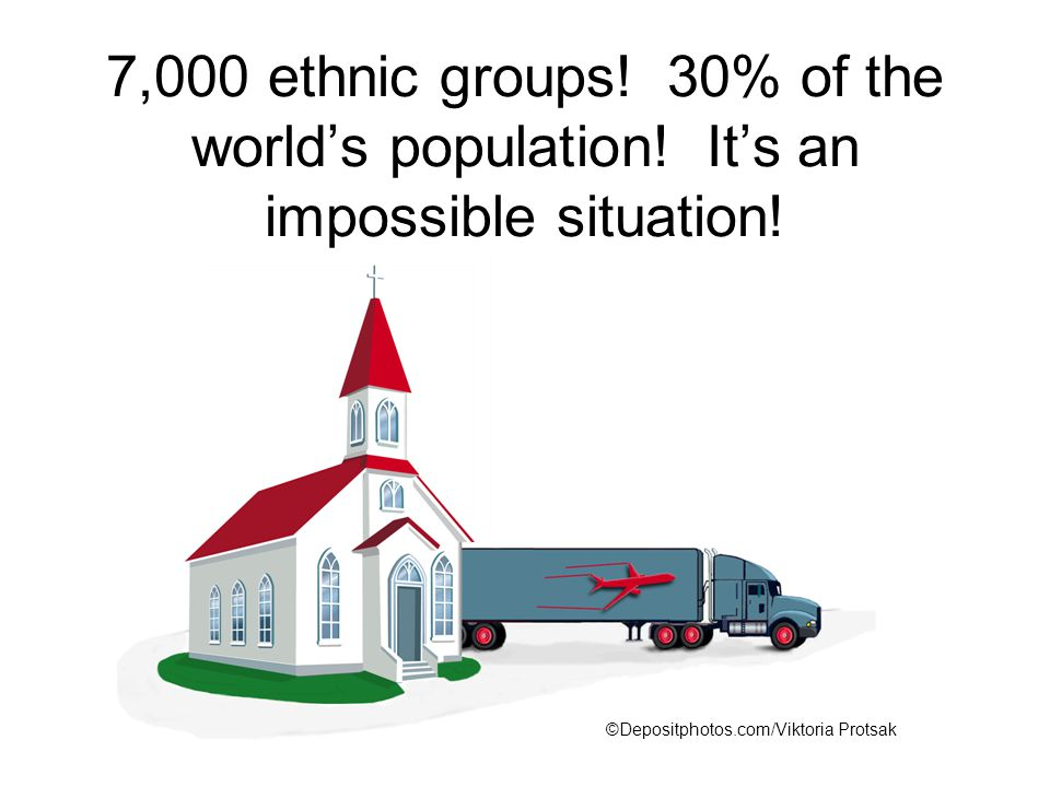 7,000 ethnic groups. 30% of the world's population.