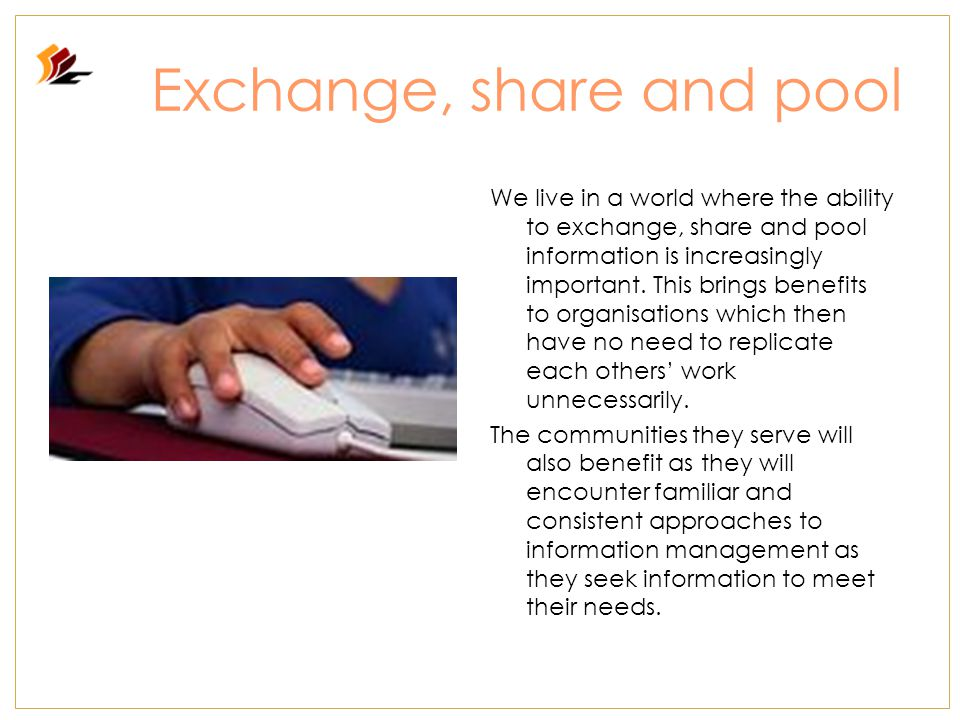 Community information Community information assists people to identify and gain access to services and programs to meet their basic needs and to participate in their local or wider community.