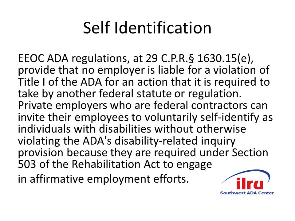 Reaffirm that although the definition of disability is broad, only those individuals who are qualified and can prove discrimination are entitled to relief.