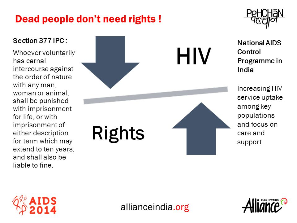 allianceindia.org Section 377 IPC : Whoever voluntarily has carnal intercourse against the order of nature with any man, woman or animal, shall be punished with imprisonment for life, or with imprisonment of either description for term which may extend to ten years, and shall also be liable to fine.