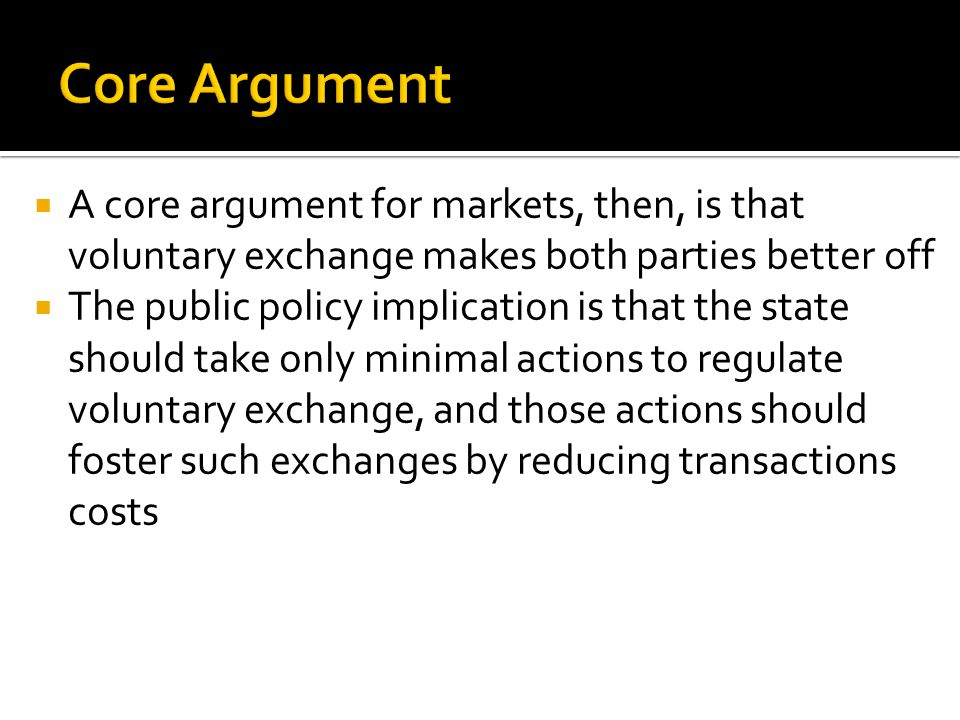  A theory of justice in market exchange.