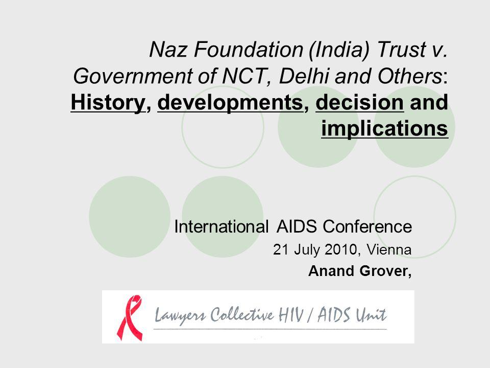 Naz Foundation (India) Trust v.