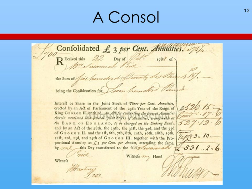 A Consol 13