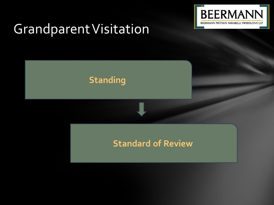 Grandparent Visitation Standing Standard of Review