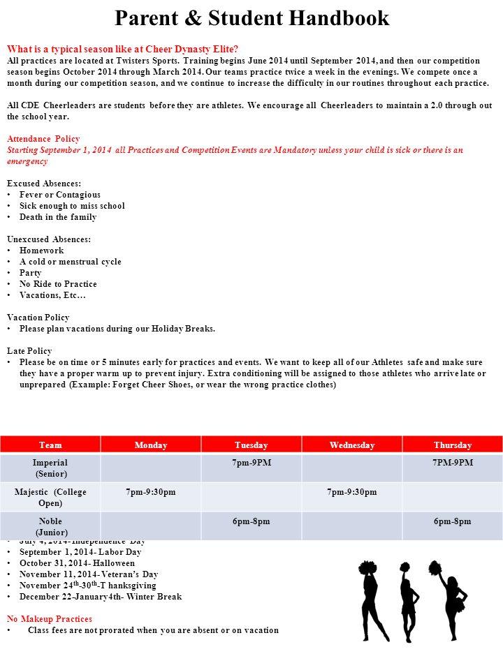 2014-2015 CDE Financial Agreement Team MajesticTeam ImperialTeam NobleMale Uniform $601.19$551.49$550.33