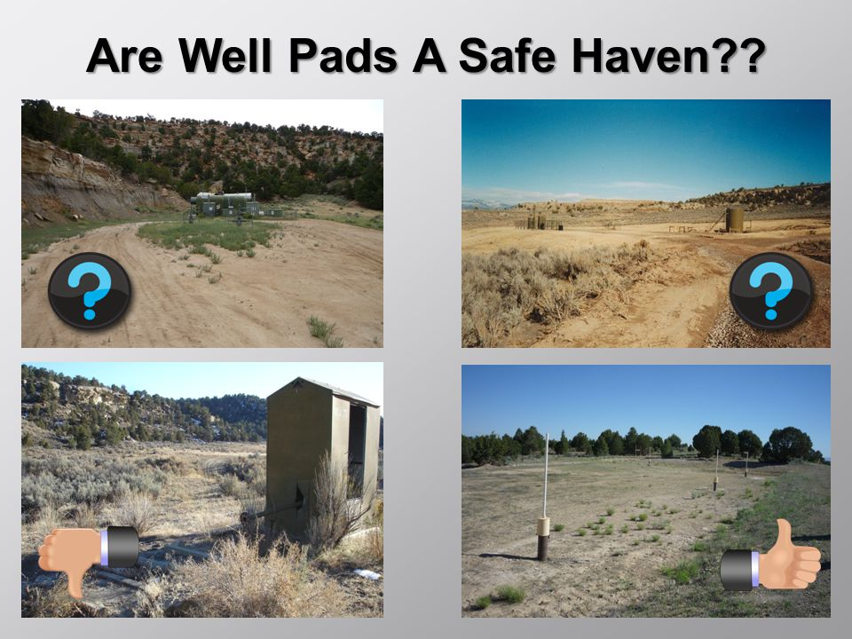 Are Well Pads A Safe Haven??