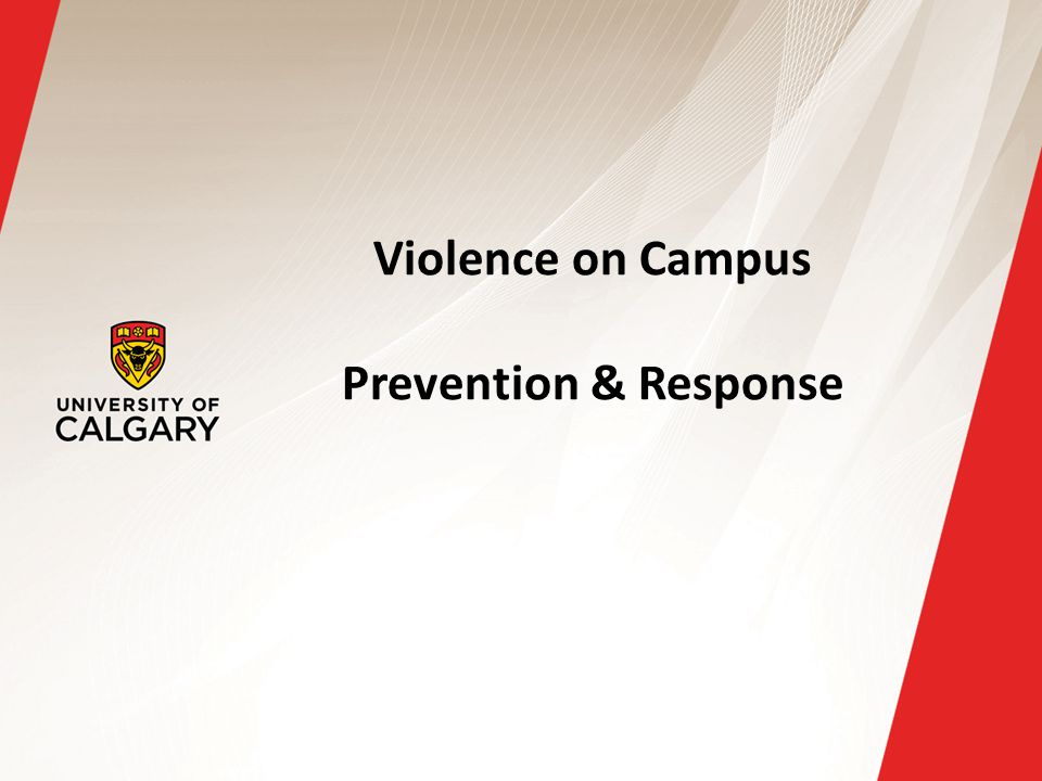 Violence on Campus Prevention & Response
