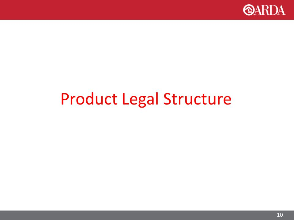 Product Legal Structure 10