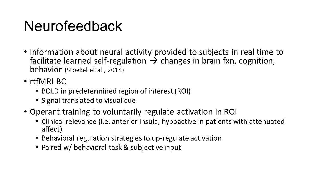 Single ROI in Healthy Individuals Movement e.g.