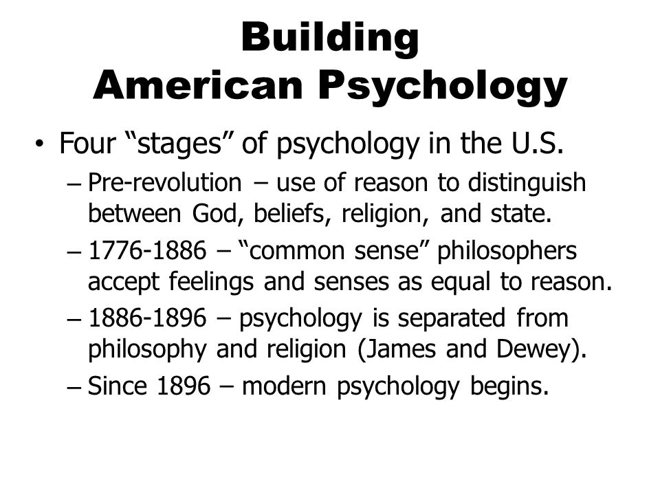 Functionalism: An American Psychology As noted in your text, Functionalism embraced a process orientation rooted in becoming while other psychologies (e.g., Structuralism, Wundt's laboratory research) accepted fixed or static elements of experience and a being approach.