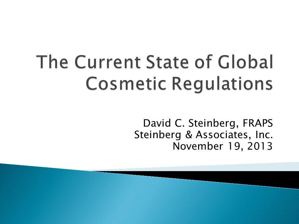 David C. Steinberg, FRAPS Steinberg & Associates, Inc. November 19, 2013