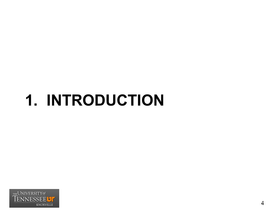 1. INTRODUCTION 4