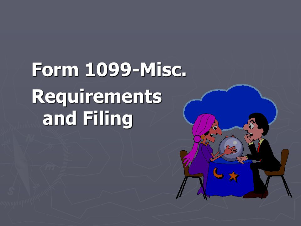 Reporting Requirements ► Non Employee Compensation ► Wages