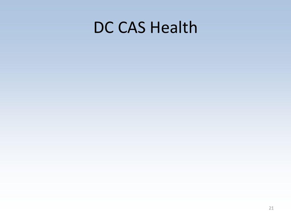 DC CAS Health 21