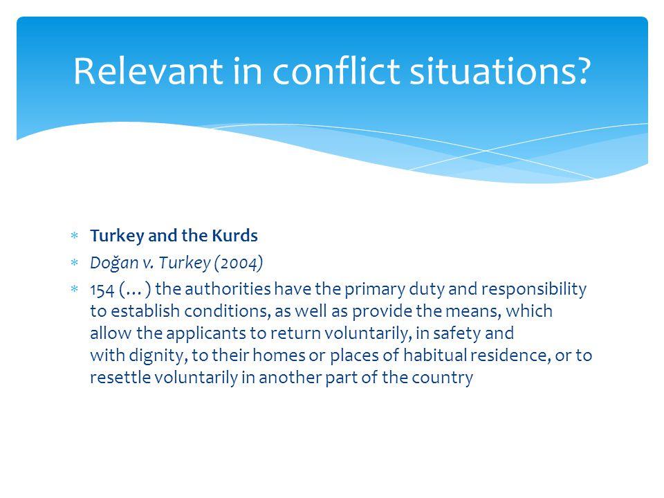  Turkey and the Kurds  Doğan v.