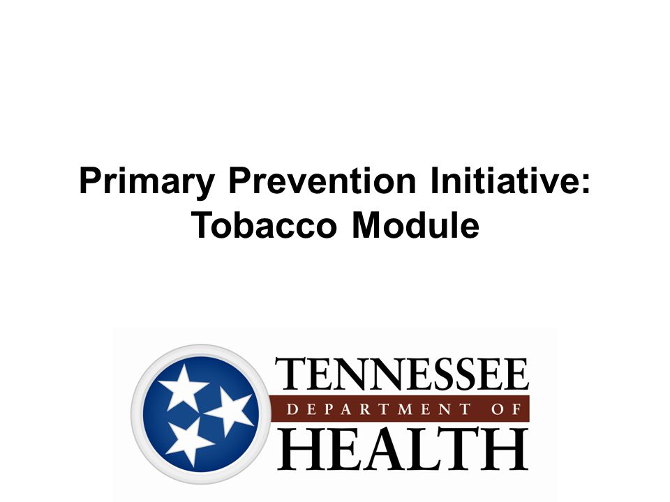 Tennessee Data: Tobacco Use in Youth Data Source: Centers for Disease Control and Prevention (CDC).