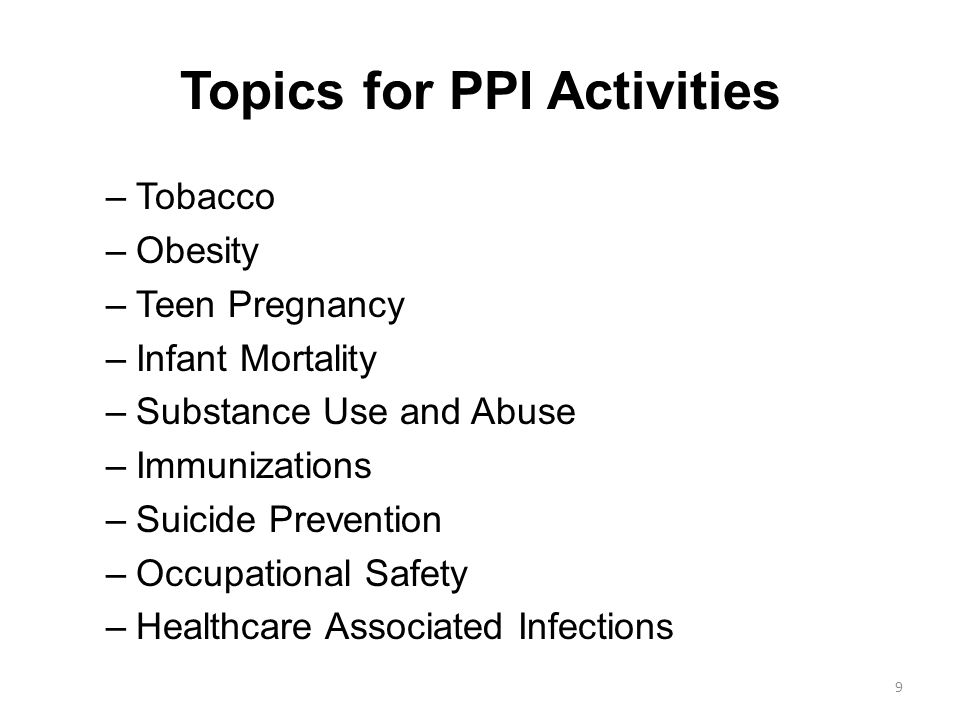 Applying Primary Prevention Principles to Tobacco Use
