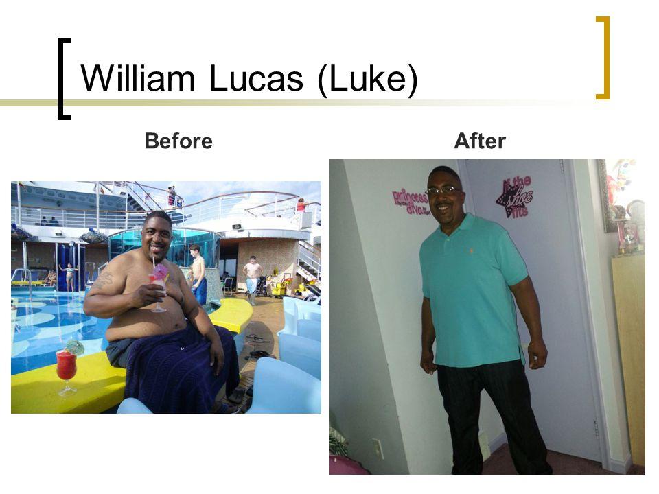 William Lucas (Luke) BeforeAfter
