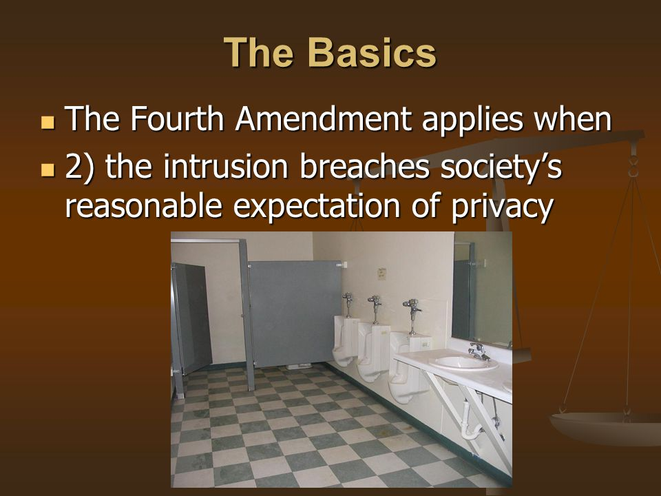 The Government Focus Today A large portion of government searches and seizures today involve the seizure and search of electronic media and information.