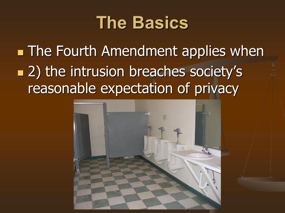 The Fourth Amendment ...
