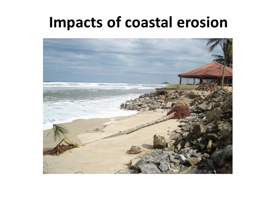 Impacts of coastal erosion
