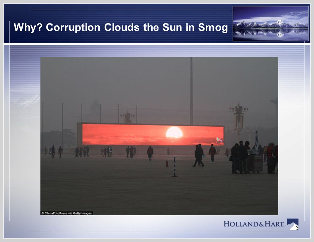3 Why Corruption Clouds the Sun in Smog