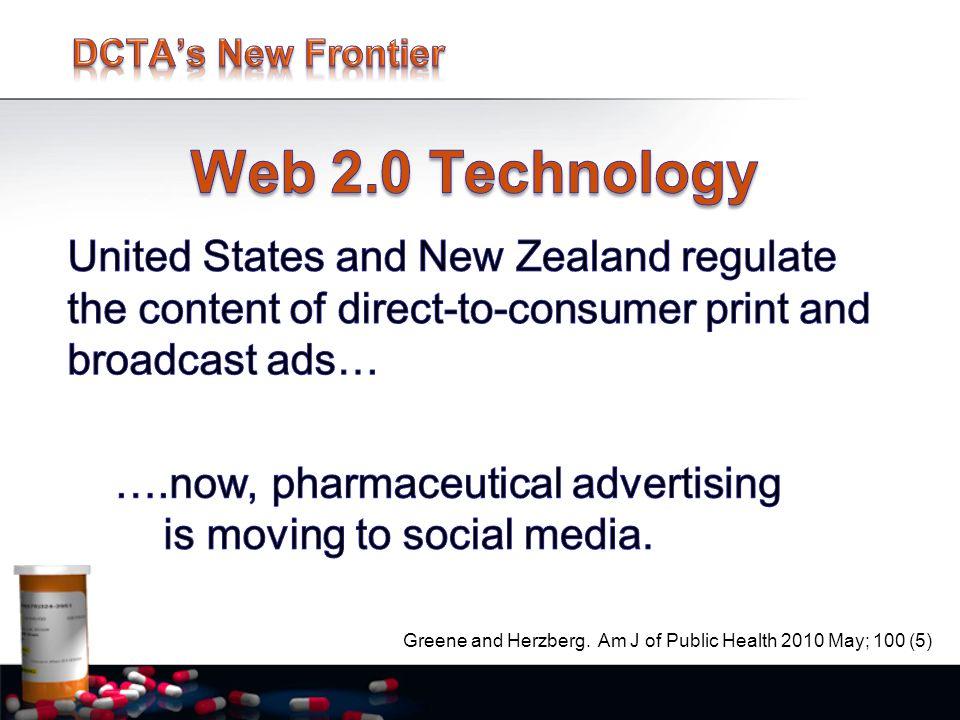 Greene and Herzberg. Am J of Public Health 2010 May; 100 (5)