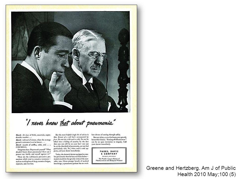 Greene and Hertzberg. Am J of Public Health 2010 May;100 (5)