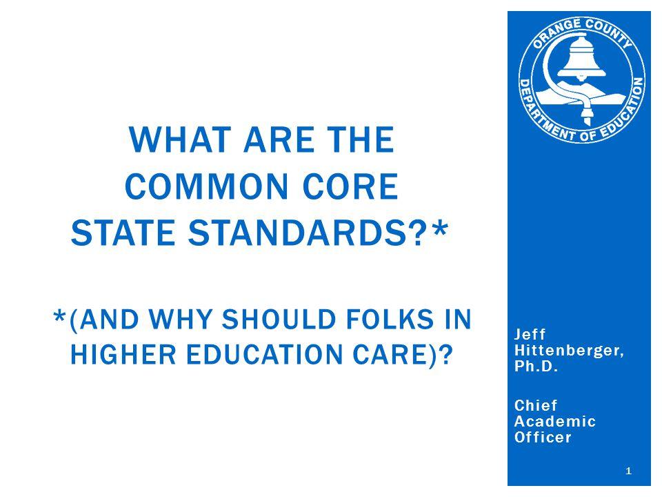 Orange County Department of Education Al Mijares, Ph.D., County Superintendent of Schools Jeff Hittenberger, Ph.D.