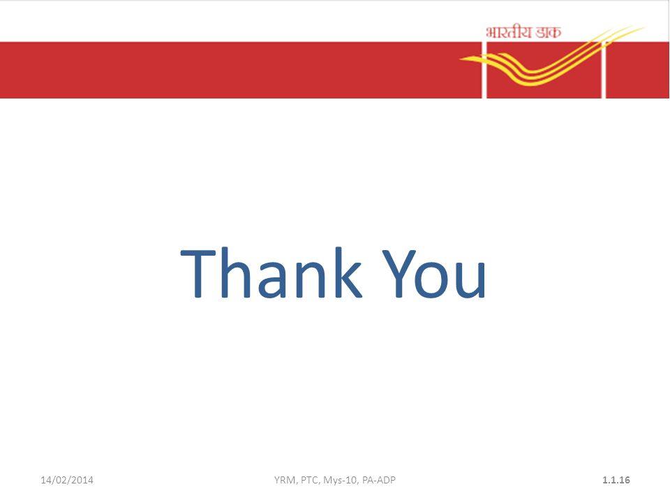 Thank You 14/02/2014YRM, PTC, Mys-10, PA-ADP1.1.16