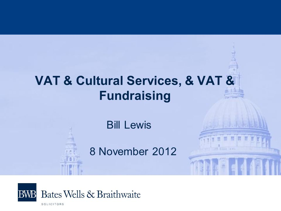 VAT & Cultural Services Admission charges by a public body or an eligible body to:  A museum, gallery, art exhibition or zoo, or  A theatrical, musical, or choreographic performance of a cultural nature Are exempt from VAT