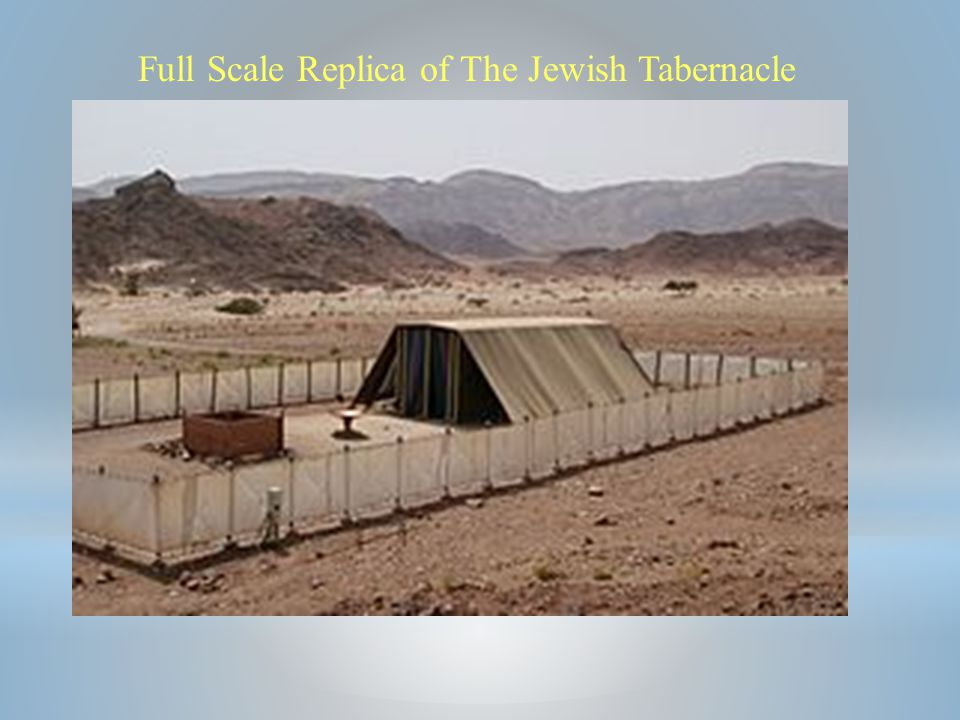 Full Scale Replica of The Jewish Tabernacle