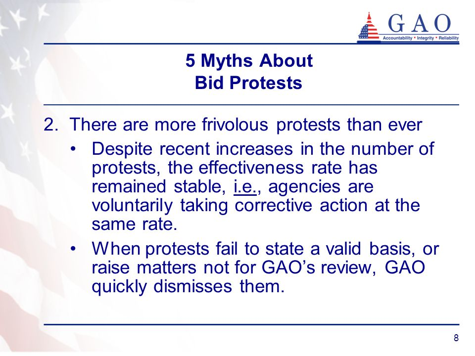 9 5 Myths About Bid Protests 3.