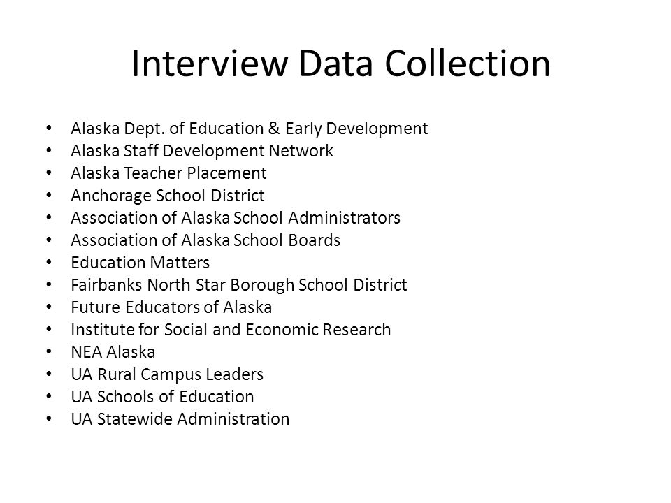 Research Reports/Documents Alaska Department of Education and Early Development (DEED) Documents Council for the Accreditation of Educator Preparation (CAEP) Education Matters, Inc.