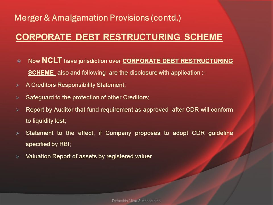 Merger & Amalgamation Provisions (contd.)  Notwithstanding anything in any other law for the time being in force, the liability in respect of offences committed under this Act by the officers in default, of the transferor company prior to its merger, amalgamation or acquisition shall continue after such merger, amalgamation or acquisition.