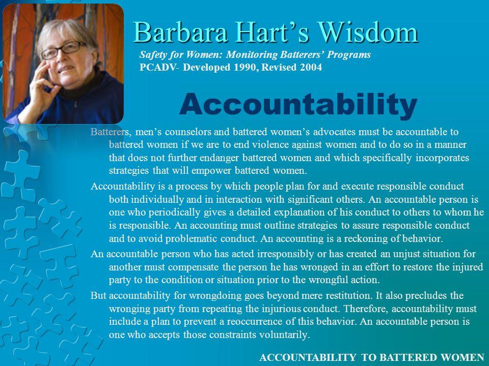 Accountability Accountable to… Accountable for… To hold Accountable… To Account for… …or is it something more…?