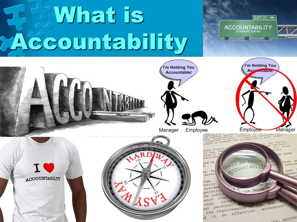 How does one measure accountability?