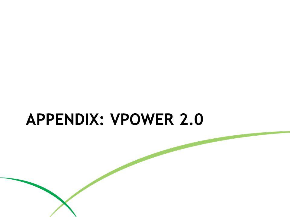 APPENDIX: VPOWER 2.0