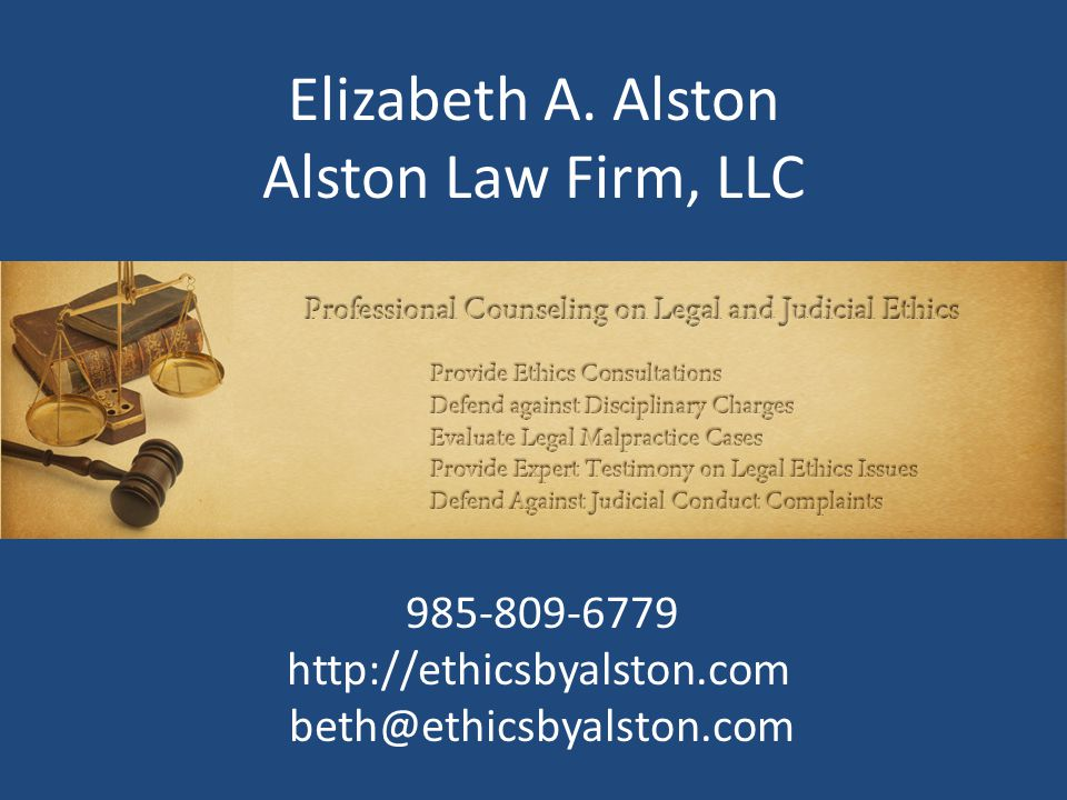 Preparing the Successor For lawyers in law firms, does the firm or the section in which you practice have a policy whereby one or more lawyers is acquainted with how you keep your files and how to access them.
