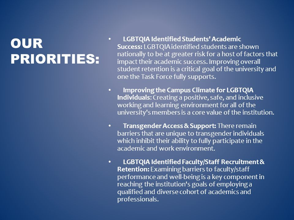Supported the creation of LGBTQA Support & Resources Office (Fall 2011).
